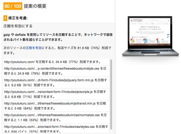 ページ速度の改善CSSとJS