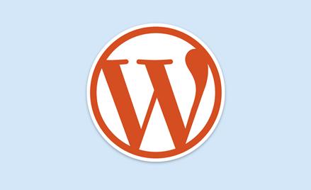 WordPressのホームページ