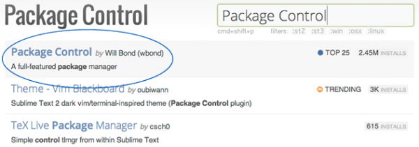 package-control