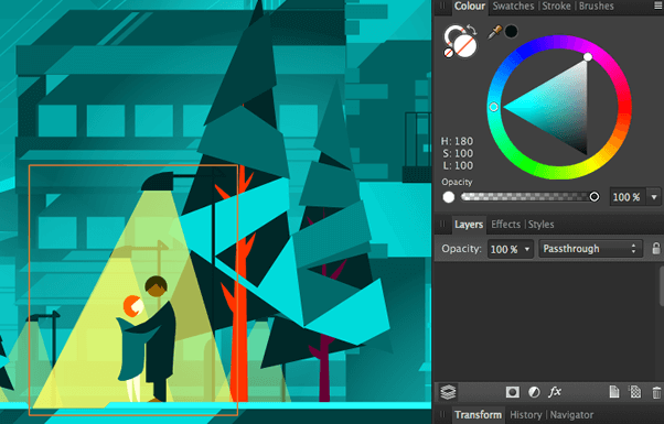 affinity designスクリーンショット2