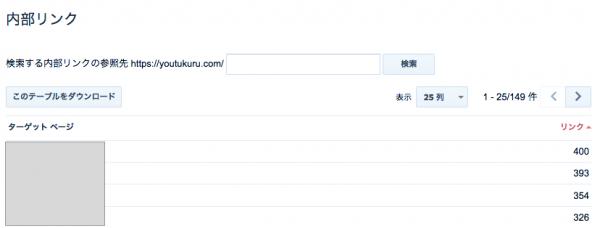 内部リンクのデータ画像